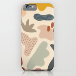 Abstract Shapes No. 12 iPhone Case