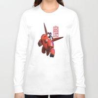 big hero 6 Long Sleeve T-shirts featuring Big Hero 6  by store2u