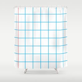 The Mathematician Shower Curtain