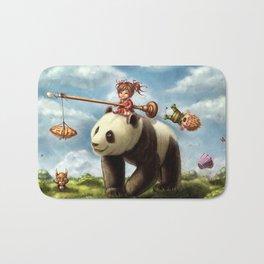 Panda Ride Bath Mat