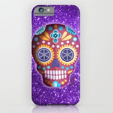 Magenta Skull Slim Case iPhone 6s
