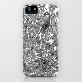 Marsh- B&W iPhone Case
