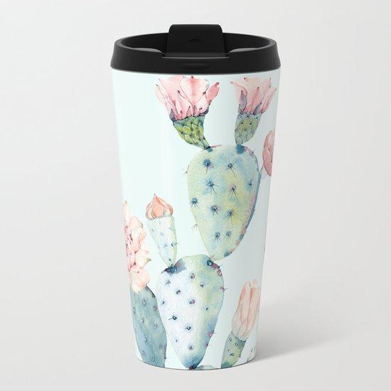 Cactus 2 #society6 #buyart Metal Travel Mug
