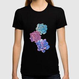 Vibrant Succulents  T-shirt