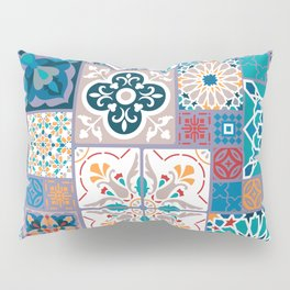 Geometric tiles Pillow Sham