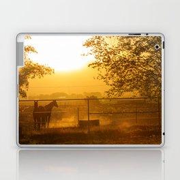 Morning In Canutillo Laptop & iPad Skin