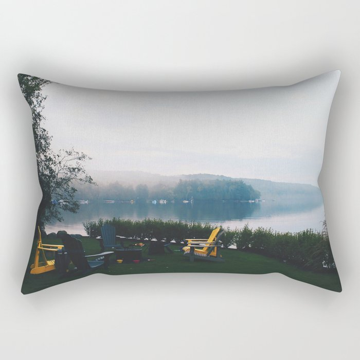 Muskoka before Dusk Rectangular Pillow