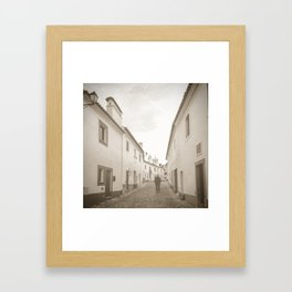Slow Pace, Steady Pace Framed Art Print