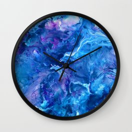 my blue esc Wall Clock