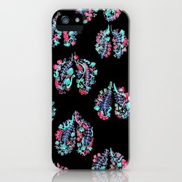 Breathing in the Cold iPhone Case