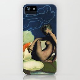 Three's a Crowd  iPhone Case