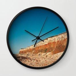 Sunny Hunny Cliffs Wall Clock