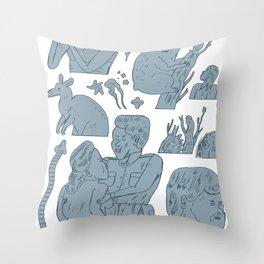pokpok Throw Pillow