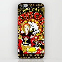 Beth's Cafe 60th Anniversary iPhone Skin