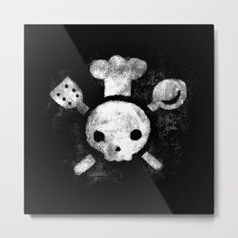 Jolie-Rogér Metal Print