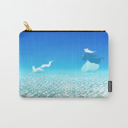Flower Fields of the Afterlife Carry-All Pouch