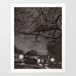night campus Art Print