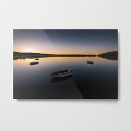 Sunrise over Knysna Lagoon in Western Cape, South Africa Metal Print