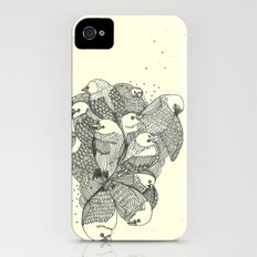 birds swimming Slim Case iPhone (4, 4s)
