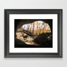 Natural Bridge Framed Art Print