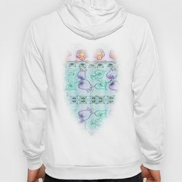 Bluebells and other flowers Hoody