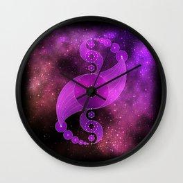 cosmic yin yang Wall Clock