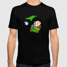 Zelda! Mens Fitted Tee Black LARGE