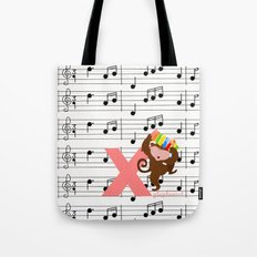 x for xylophonist Tote Bag