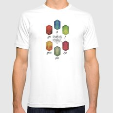 Legend of Zelda - Tingle's The Rupees of Hyrule Kingdom White MEDIUM Mens Fitted Tee