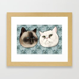Ming and Wicket Framed Art Print