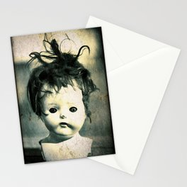 Doll Head Stationery Cards