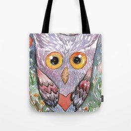 Colorfull Owl Tote Bag