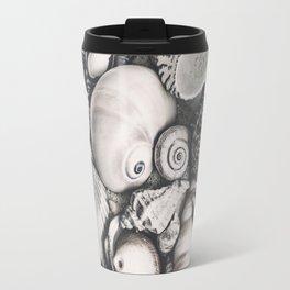 Sea Shell Collection Vintage Style Travel Mug