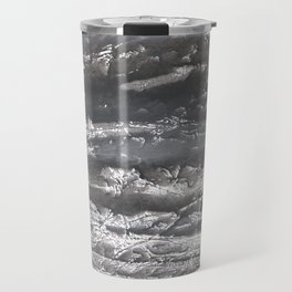 Dark marble Travel Mug