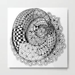 Mobius Twist Metal Print