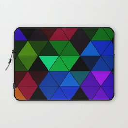 Colorful Triangle Mosaic Laptop Sleeve
