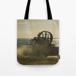 Hovercraft gold Tote Bag