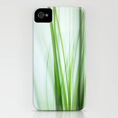 Grass / Green Whispers iPhone (4, 4s) Slim Case