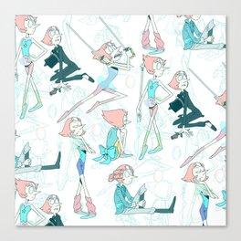 Pearl Pattern Canvas Print