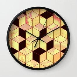 Geometrical Force #1 Wall Clock