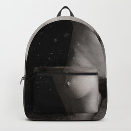 Naked  Woman Watercolor Backpack