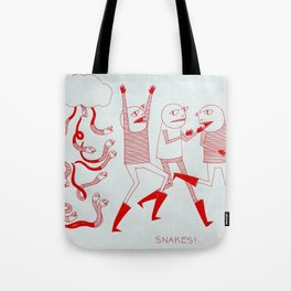 SNAKES! Tote Bag