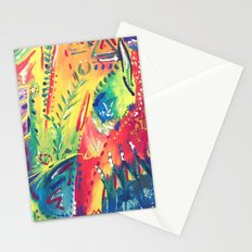 Splashes of colour Stationery Cards