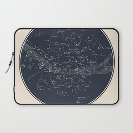 Carte Celeste Laptop Sleeve