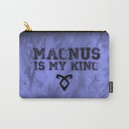 """""""MAGNUS IS MY KING"""" Shadowhunters Design Carry-All Pouch"""