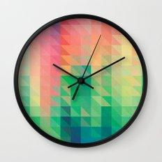 Triangular studies 01. Wall Clock