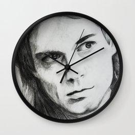 Kurt Portrait Wall Clock