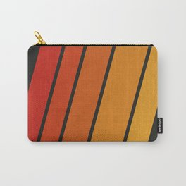 Retro 70s Stripes Carry-All Pouch