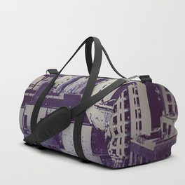 Muted Cityscape Duffle Bag