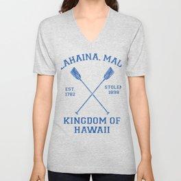 Lahaina Maui Hawaii - Kingdom of Hawaii Unisex V-Neck
